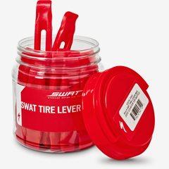 SWAT TIRE LEVER RED COUNTER TOP BOTTLE