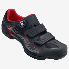 COMP MTB SHOE BLK/RED 48/13.75