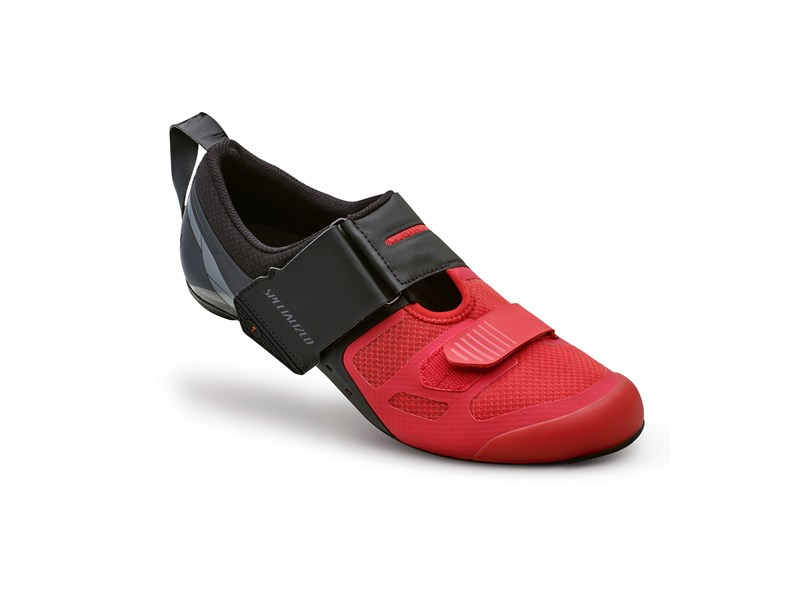 TRIVENT SC RD SHOE BLK/RED 42/9